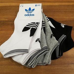 Adidas 6pair womens socks